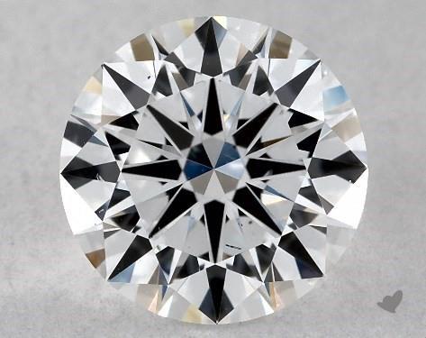 Lab-Created 1.02 Carat F-SI1 Excellent Cut Round Diamond