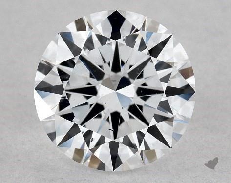 Lab-Created 1.02 Carat G-SI1 Excellent Cut Round Diamond