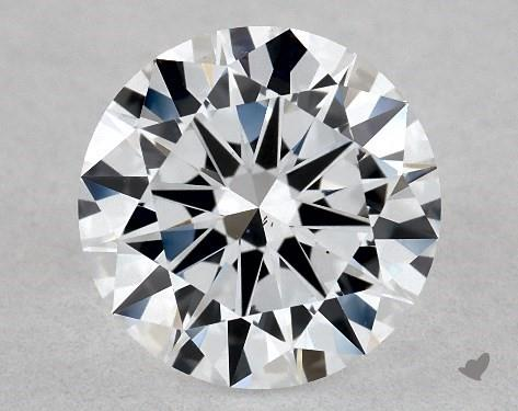 Lab-Created 1.03 Carat F-SI1 Excellent Cut Round Diamond