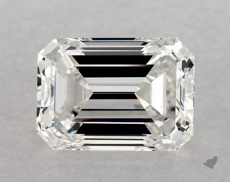 1.00 Carat F-SI1 Emerald Cut Diamond