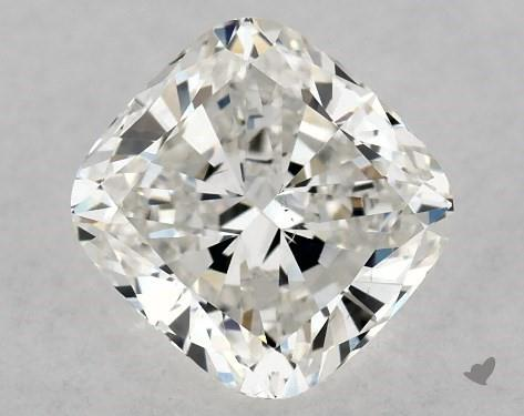 1.01 Carat G-SI1 Cushion Modified Cut Diamond