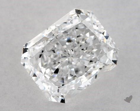 1.01 Carat D-SI1 Radiant Cut Diamond
