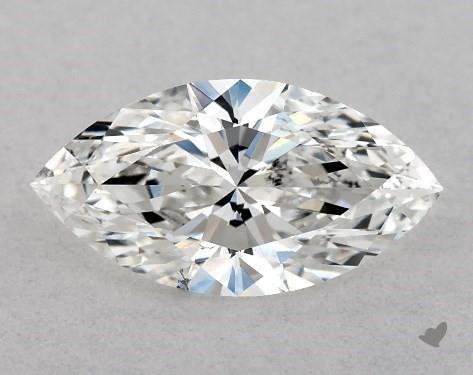 0.50 Carat G-SI1 Marquise Cut Diamond