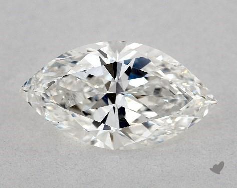 1.02 Carat F-SI1 Marquise Cut Diamond