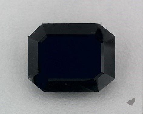 12.00 Carat FANCY  Black Emerald Cut Diamond