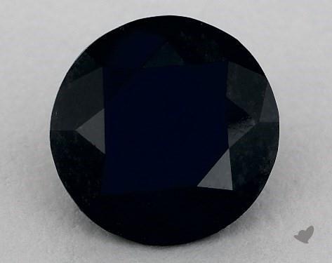 2.92 Carat FANCY  Black Round Cut Diamond