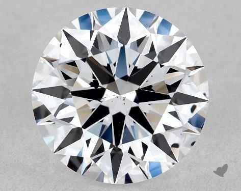 Lab-Created 1.13 Carat G-SI1 Ideal Cut Round Diamond