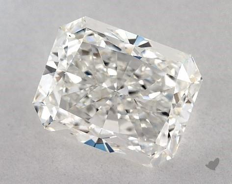 3.23 Carat G-VS1 Radiant Cut Diamond