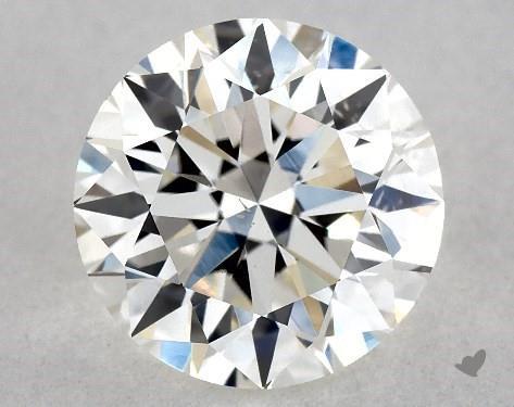 1.02 Carat G-SI1 Excellent Cut Round Diamond