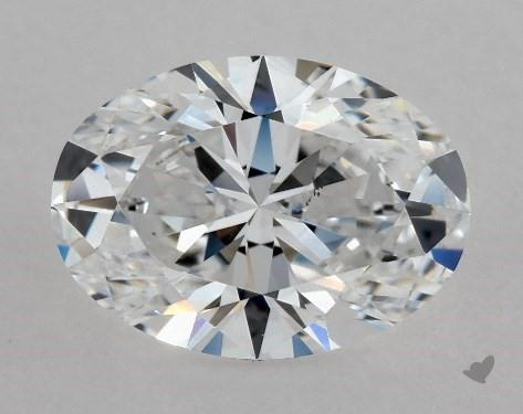 1.04 Carat D-VS2 Oval Cut Diamond