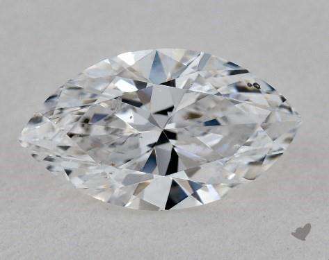 0.95 Carat D-SI2 Marquise Cut Diamond