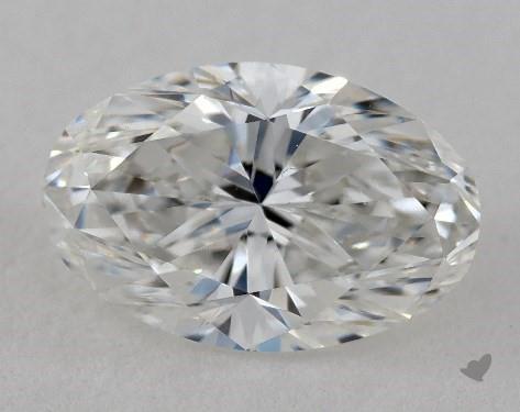 1.04 Carat F-VVS1 Oval Cut Diamond
