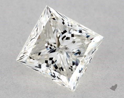 0.36 Carat I-VVS1 Ideal Cut Princess Diamond