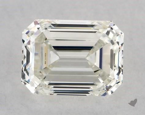 0.50 Carat J-VS1 Emerald Cut Diamond