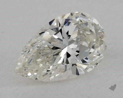 0.40 Carat I-VS1 Pear Shape Diamond