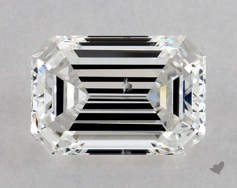 1.01 Carat F-SI1 Emerald Cut Diamond