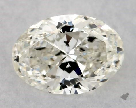 0.51 Carat J-SI1 Oval Cut Diamond
