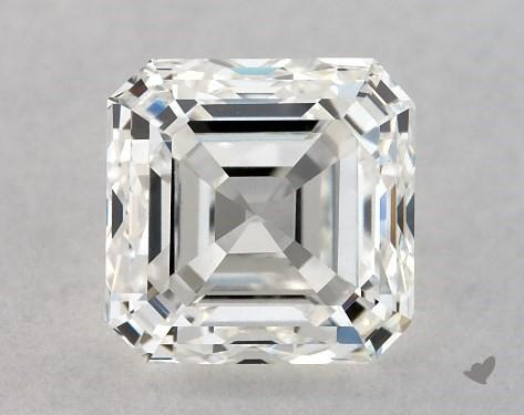 1.01 Carat H-VS1 Square Emerald Cut Diamond
