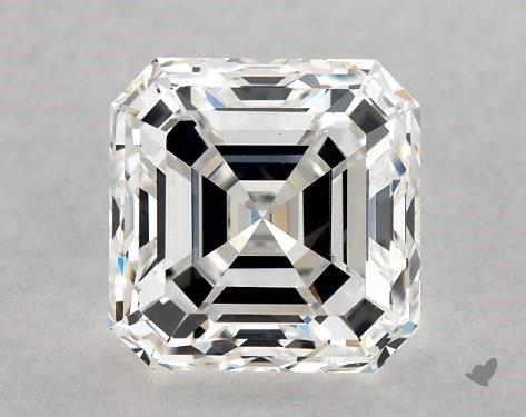 1.07 Carat H-VS1 Square Emerald Cut Diamond