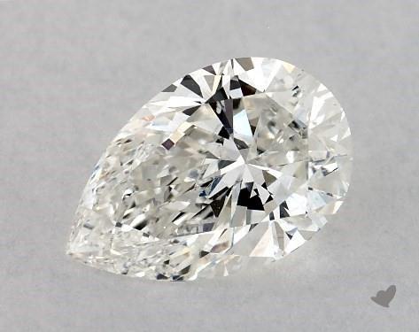 1.02 Carat G-SI1 Pear Shape Diamond