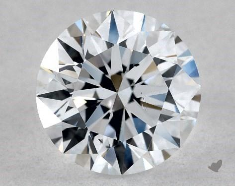 Lab-Created 1.04 Carat F-SI1 Ideal Cut Round Diamond