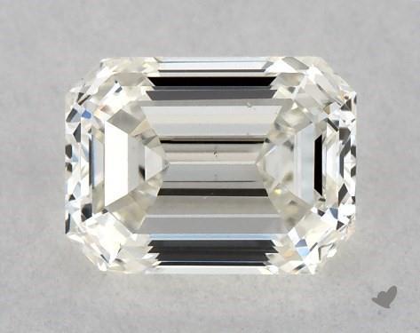<b>0.50</b> Carat J-VS2 Emerald Cut Diamond