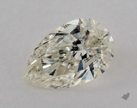 1.02 Carat K-SI2 Pear Shape Diamond