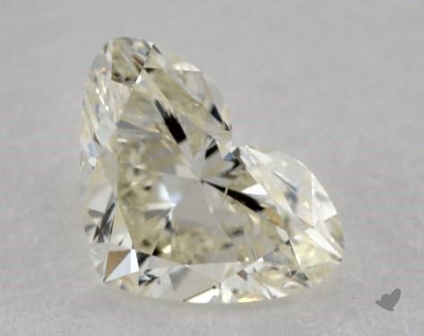 1.21 Carat K-SI1 Heart Shape Diamond