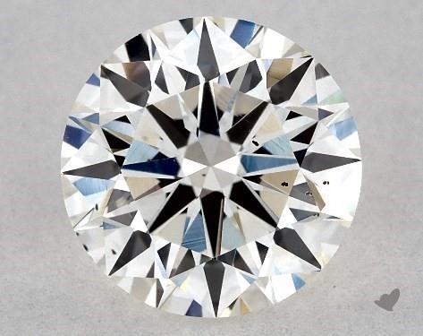1.14 Carat H-SI1 Excellent Cut Round Diamond