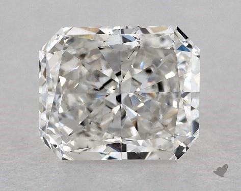 1.01 Carat H-SI1 Radiant Cut Diamond