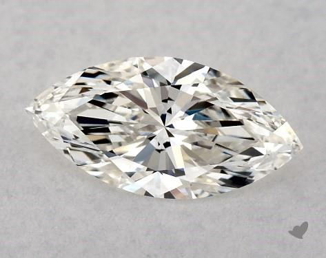 <b>0.50</b> Carat J-VS2 Marquise Cut Diamond
