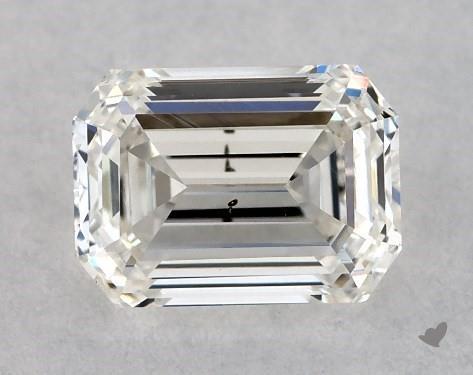 <b>0.50</b> Carat H-SI2 Emerald Cut Diamond
