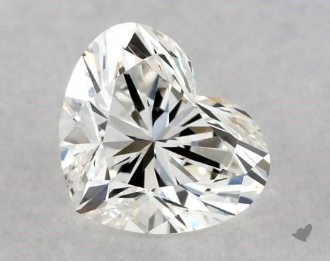<b>0.40</b> Carat H-VVS1 Heart Cut Diamond
