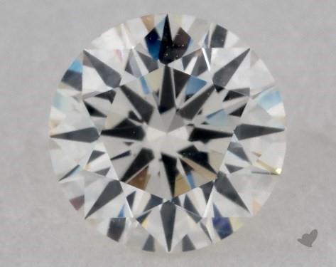 0.90 Carat H-SI2 Excellent Cut Round Diamond