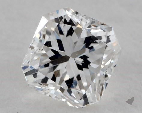 0.43 Carat F-SI1 Radiant Cut Diamond