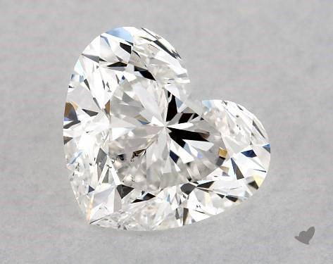 1.00 Carat E-SI1 Heart Shape Diamond