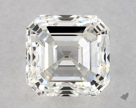 1.00 Carat H-VS2 Square Emerald Cut Diamond