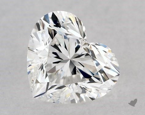 1.01 Carat D-SI1 Heart Shape Diamond
