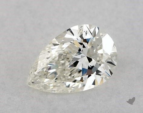 <b>0.51</b> Carat J-SI1 Pear Cut Diamond