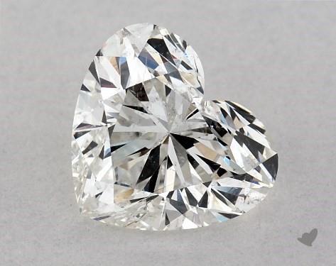 1.00 Carat G-SI1 Heart Shape Diamond