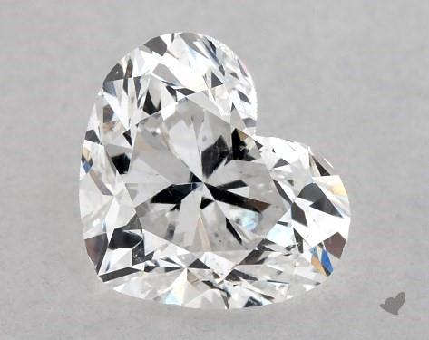 1.04 Carat D-SI1 Heart Shape Diamond
