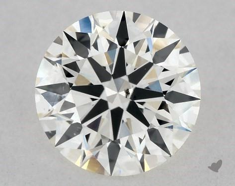 1.09 Carat H-SI1 True Hearts<sup>TM</sup> Ideal Diamond