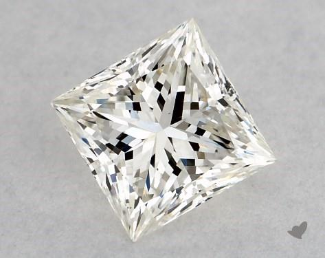 0.47 Carat J-VS2 Very Good Cut Princess Diamond