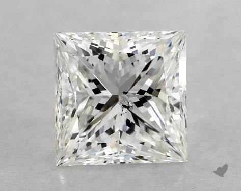 1.02 Carat G-SI1 Ideal Cut Princess Diamond