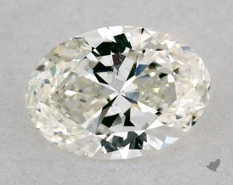 0.50 Carat I-SI1 Oval Cut Diamond