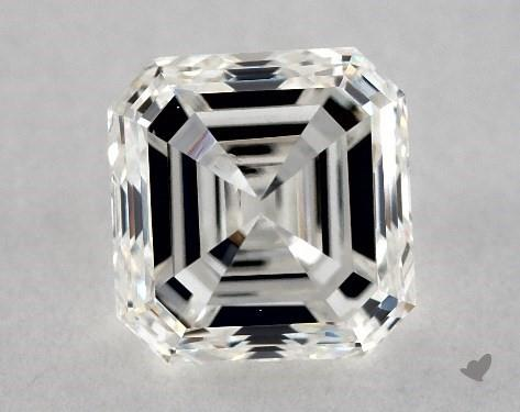 1.00 Carat G-SI1 Square Emerald Cut Diamond