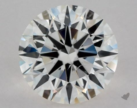 0.80 Carat I-SI1 Excellent Cut Round Diamond