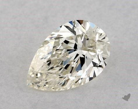 <b>0.50</b> Carat K-VS2 Pear Cut Diamond
