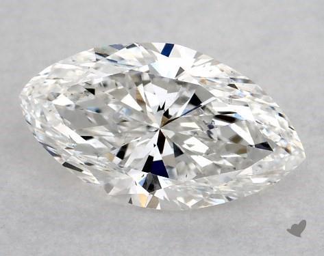 1.00 Carat E-VS2 Marquise Cut Diamond