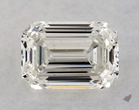 <b>0.50</b> Carat J-SI1 Emerald Cut Diamond